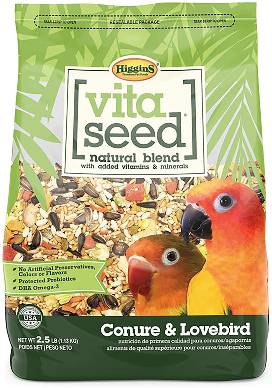lovebird foods